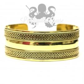 Bracelet large en bronze