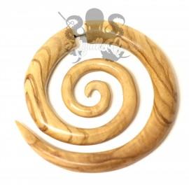 Maxi Boucle d'oreille en bois