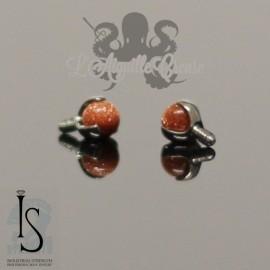 Accessoire en titane & pierres fines IS pour 1 ou 1.2 mm