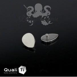 Accessoire QualiTi Teardrop en titane - pour 1.6 mm