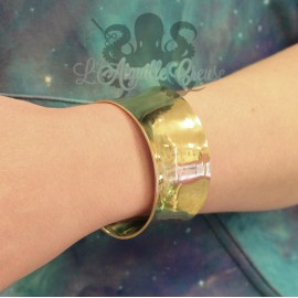Bracelet en bronze manchette