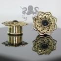 Plug en Bronze & Onyx