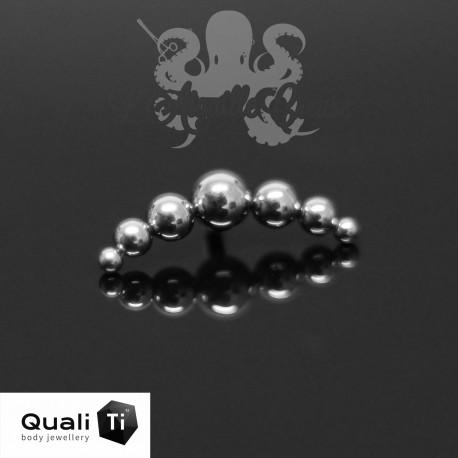 Accessoire QualiTi en titane - pour 1.2 mm