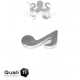 Accessoire QualiTi Note de musique en titane - pour 1.2 mm