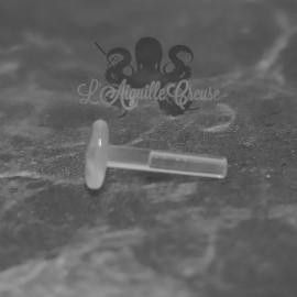 Labret en bioplast clipable