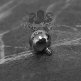 Bille QualiTi en titane, pour 1.2 mm
