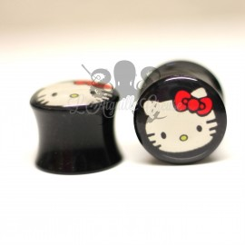 Plug Hello Kitty en acrylique