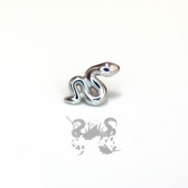 Serpent en or blanc 18 carats pour 1.2 mm