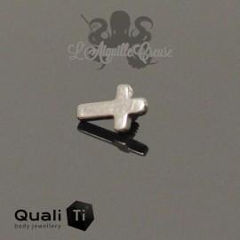 Accessoire QualiTi Mini Croix en titane - pour 1.2 mm