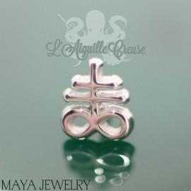 Brimstone en or blanc 14 carats Threadless - Maya