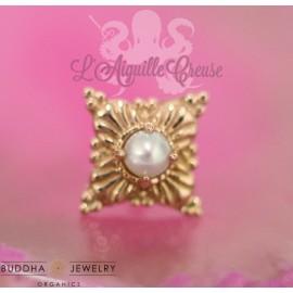 Accessoire Perle et or rose 14 carats - Buddha