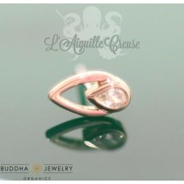 Accessoire Zircon et or rose 14 carats - Buddha