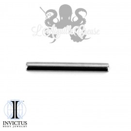 Barbell en titane 1.6 mm threadless Invictus