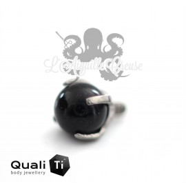 Accessoire QualiTi en titane & Onyx de 3 mm , pour 1.2 mm