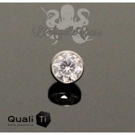 Demi bille QualiTi en zircon et titane - pour 1.6 mm