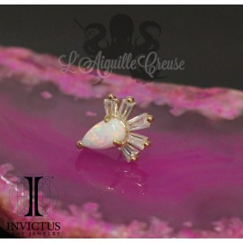 Accessoire en or 14 carats Threadless - Invictus