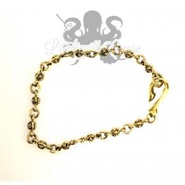 Bracelet en bronze croix