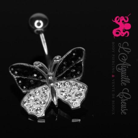 Papillon en argent.